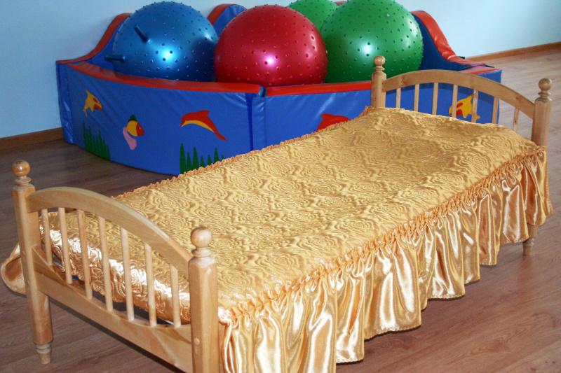 Покрывало с рюшами на кровать своими руками